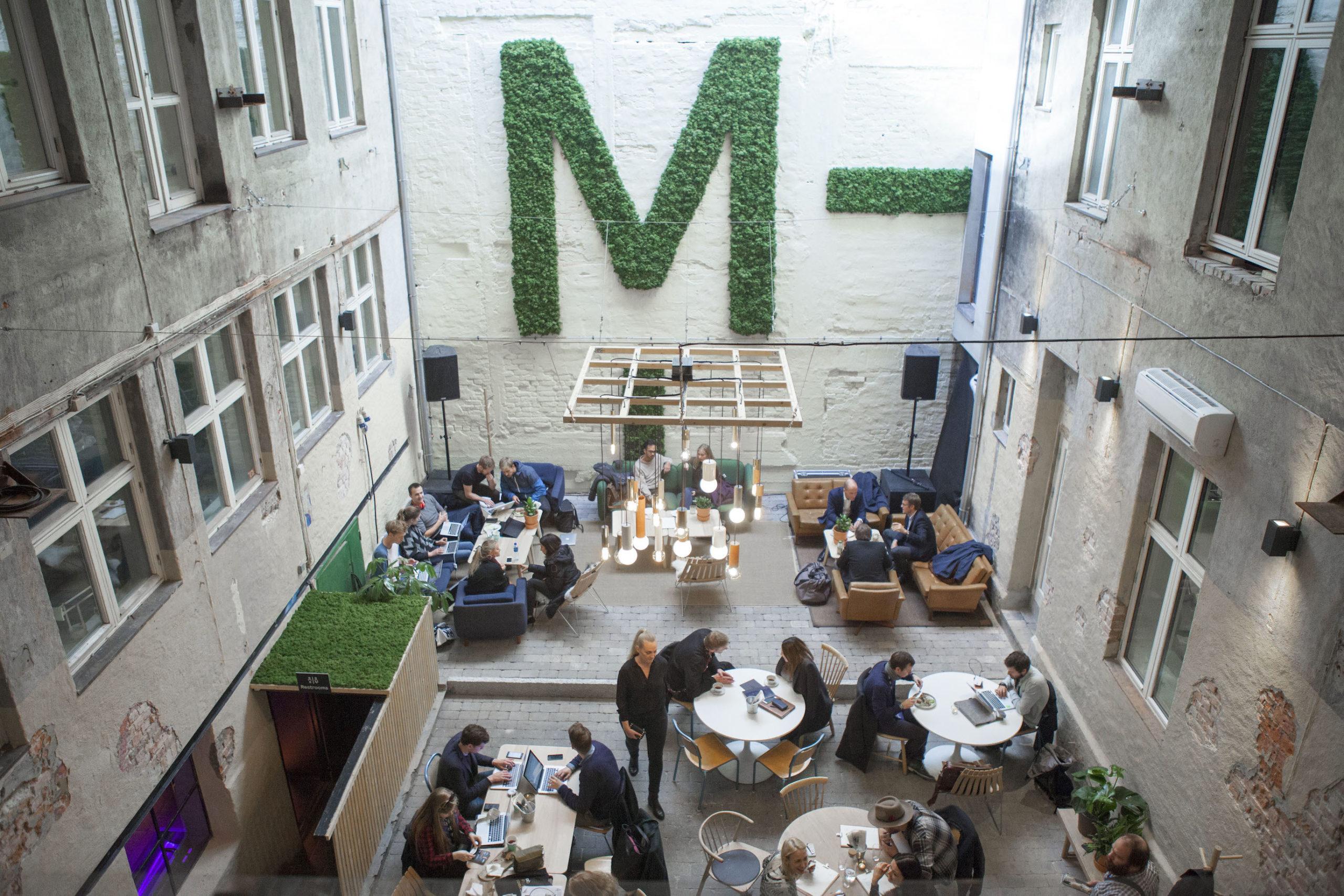 MESH kafé og coworking space.