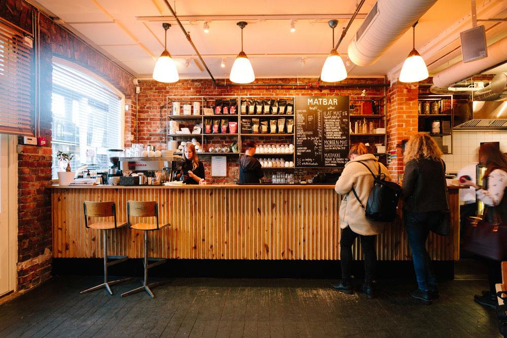 Kulturhuset, kafé i Oslo.