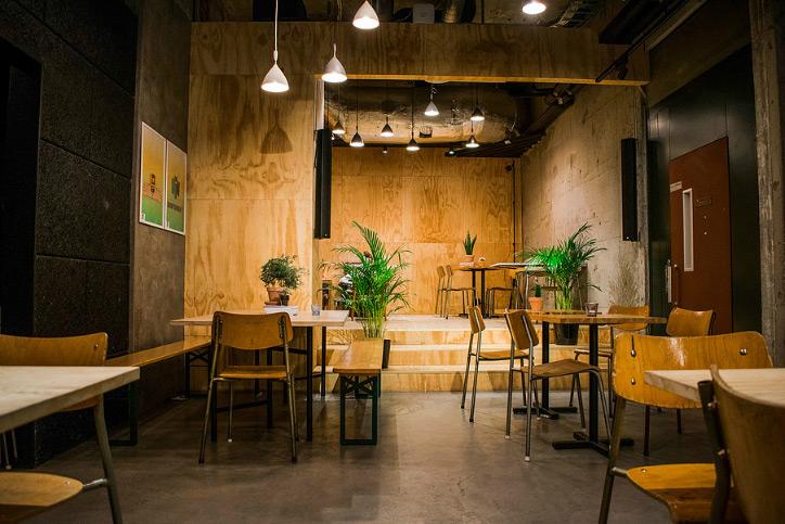 Tøyen Startup Village, kafé i Oslo.